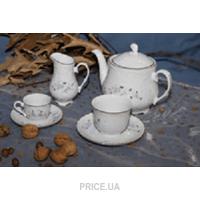 Фото Cmielow Набор кофейных чашек без блюдец Rococo 9706 100 мл