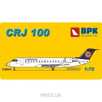 Фото BIG Пассажирский самолет Bombardier CRJ 100 Lufthansa airways (BPK7207)