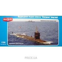 "Фото Micro-Mir Подводная лодка класса ""sturgeon"" long hull (MM350-012)"