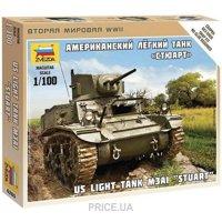"""Фото ZVEZDA Американский легкий танк M3A1 """"Стюарт"""" (ZVE6265)"""