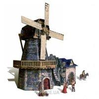 Фото Умная бумага Средневековый город. Мельница (273)