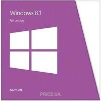 Фото Microsoft Windows 8.1 SL 64 bit Русский для 1 ПК OEM (4HR-00205)