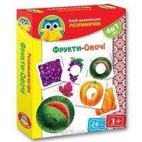 Фото Vladi Toys Умник. Фрукты-овощи (VT1306-06)