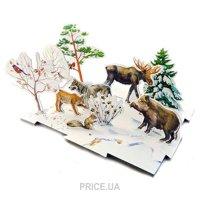Фото Умная бумага Объемное лото Зима в лесу (091)