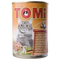 Фото TOMi Консервы для кошек с уткой и печенью 0,4 кг