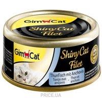 Фото Gimpet ShinyCat тунец с анчоусами 70 г