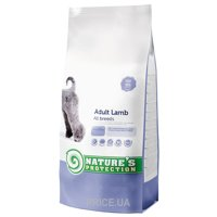 Фото Nature's Protection Dog Adult with Lamb 18 kg