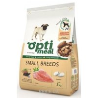 Фото OptiMeal Adult Small Breeds Chicken 3 кг