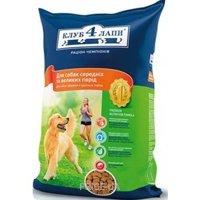 Фото Клуб 4 лапы Для собак средних и крупных пород 3 кг