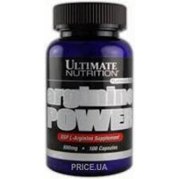 Фото Ultimate Nutrition Arginine Power 100 caps