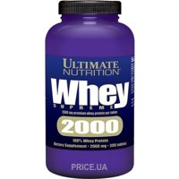 Фото Ultimate Nutrition Whey Supreme 2000 300 tabs
