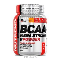 Фото Nutrend BCAA Mega Strong Powder 500g