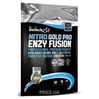Фото BioTech Nitro Gold Pro Enzy Fusion 500 g  (16 servings)