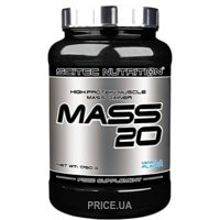 Фото Scitec Nutrition Mass 20 1750 g