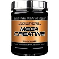 Фото Scitec Nutrition Mega Creatine 150 caps