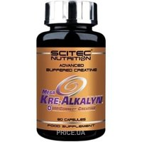 Фото Scitec Nutrition Mega Kre-alkalyn 80 caps
