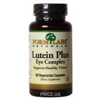 Фото Form Labs Lutein plus Eye Complex 60 caps