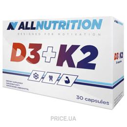 Фото All Nutrition Vit D3+K2 30 caps