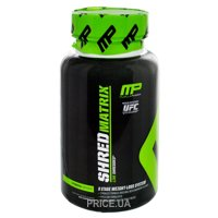 Фото MusclePharm Shred Matrix 60 caps