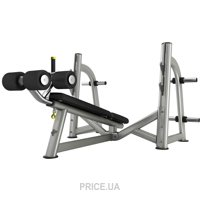 Фото Pulse Fitness Olympic Decline Bench Press 860G