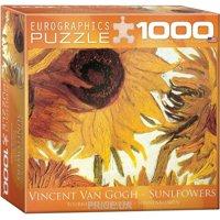 "Фото EuroGraphics ""Двенадцать подсолнухов"" (фрагмент) Винсент ван Гог (6000-5429)"