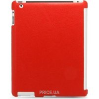 Фото Melkco Leather Snap Cover iPad 2 Red (APIPA2LOLT1RDLC)