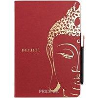 Фото Ozaki Чехол для iPad mini O!coat Wisdom Buddhist Scripture Red (OC103SR)