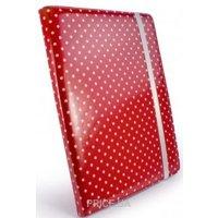 Фото Tuff-Luv Slim-Stand для iPad 2/3 Polka-Hot Raspberry (B10_36)