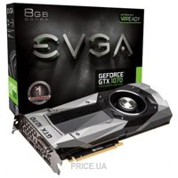 Фото EVGA GeForce GTX 1070 FOUNDERS EDITION (08G-P4-6170-KR)