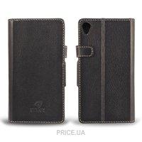 Фото Stenk Чехол Wallet для Sony Xperia Z3 Черный