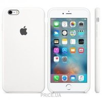 Фото Apple iPhone 6s Plus Silicone Case - White (MKXK2)