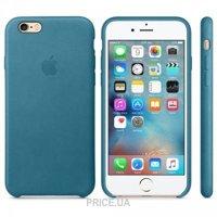 Фото Apple iPhone 6 Plus/6s Leather Case - Marine Blue (MM362ZM)