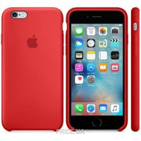 Фото Apple iPhone 6s Silicone Case - Red (MKY32)
