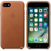 Фото Apple iPhone 7 Leather Case - Saddle Brown (MMY22)