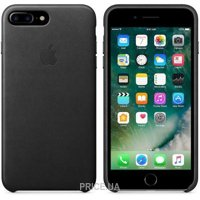 Фото Apple iPhone 7 Plus Leather Case - Black (MMYJ2)