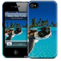 Фото Gelaskins Hard Case for iPhone 5/5s Baby Green Sea Turtle Gela