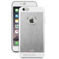 Фото Moshi iGlaze Armour Metallic Case Jet Silver for iPhone 6 Plus/6S Plus (99MO080201)