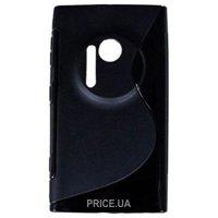 Фото Drobak Elastic PU Nokia Lumia 1020 (Black) (216385)