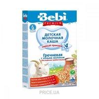 Фото Bebi Premium Каша молочная Гречневая с козьим молоком 200 г