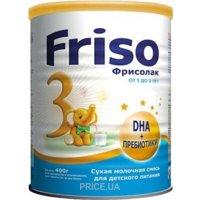 Фото Friso Смесь Фрисолак 3 Gold с нуклеотидами и пребиотиками, 400 г