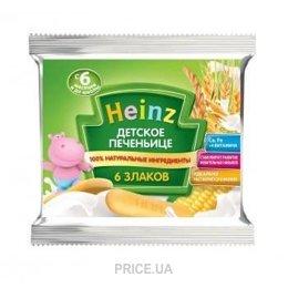 Фото Heinz Детское печенье 6 злаков, 60 г
