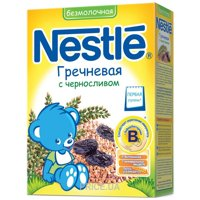 Фото Nestle Каша безмолочная Гречневая с черносливом, 200 г
