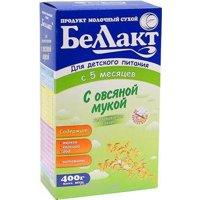Фото Беллакт Молочная смесь с овсяной мукой, 400 г