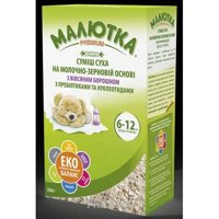 Фото Малыш Молочная смесь Малютка Premium с овсяной мукой, 350 г