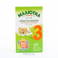 Фото Малыш Молочная смесь Малютка Premium 3, 350 г