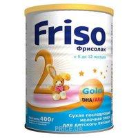 Фото Friso Смесь Фрисолак 2 Gold, 400 г