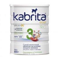 Фото Kabrita Молочная смесь 3 Gold с 12 месяцев, 800 г