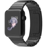 Фото Apple Watch 38mm Space Black Case with Space Black Stainless Steel Link Bracelet (MJ3F2)