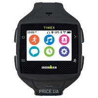 Фото Timex Ironman One GPS+ Watch - With Heart Rate Monitor (Black/Gray)