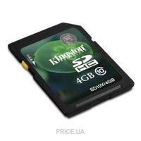 Сравнить цены на Kingston SD10V/4GB